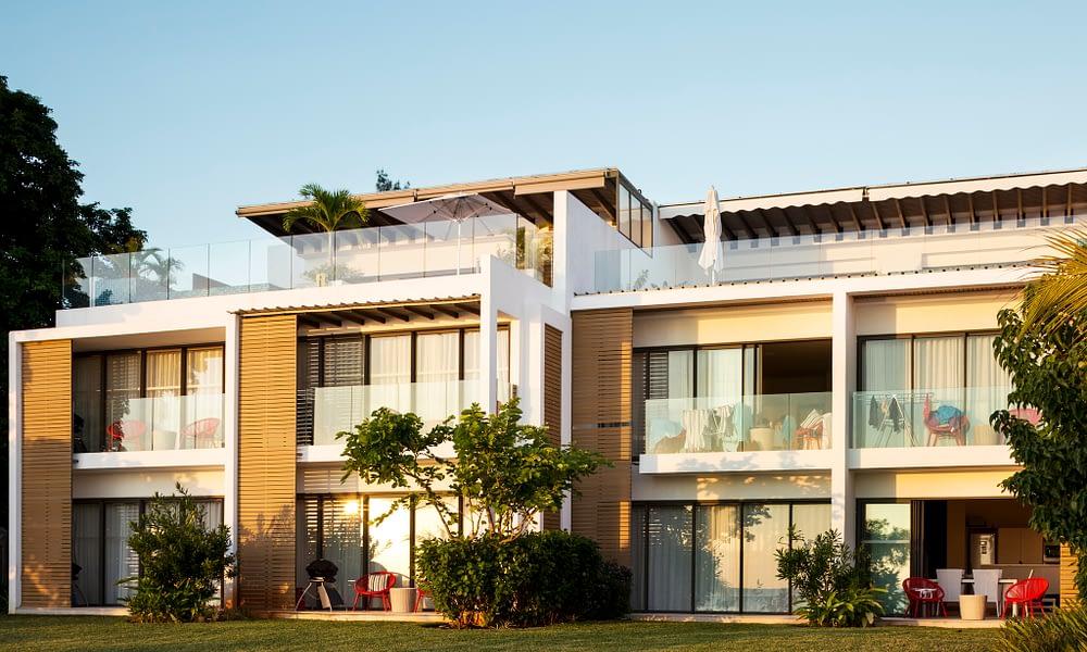Cap Ouest apartments front
