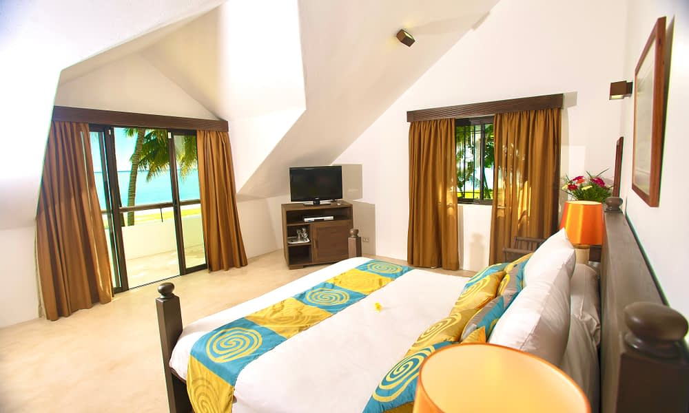 first floor bedroom sea view