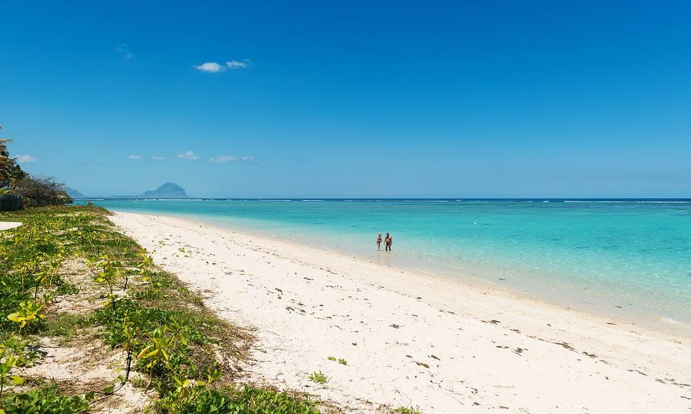 Cap Ouest beach sand