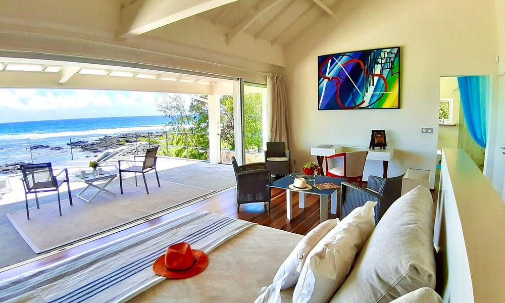 Villa Brisa bedroom first floor sea view
