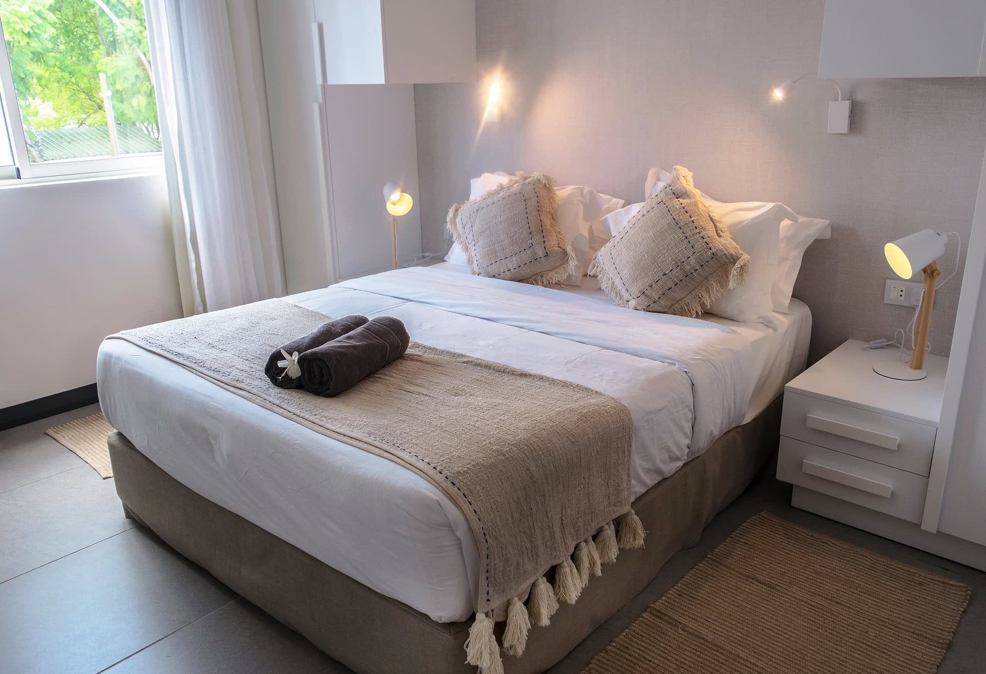 O'Biches beach front bedroom 1