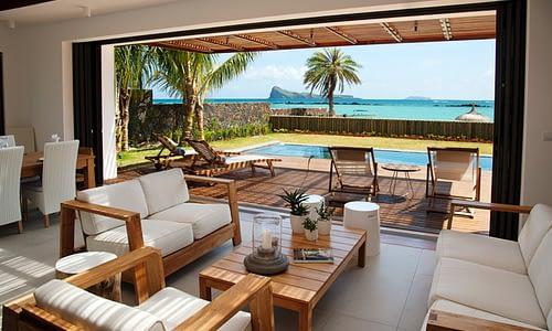 Villa Coralie living