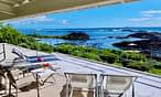 Villa Brisa terrace sea view