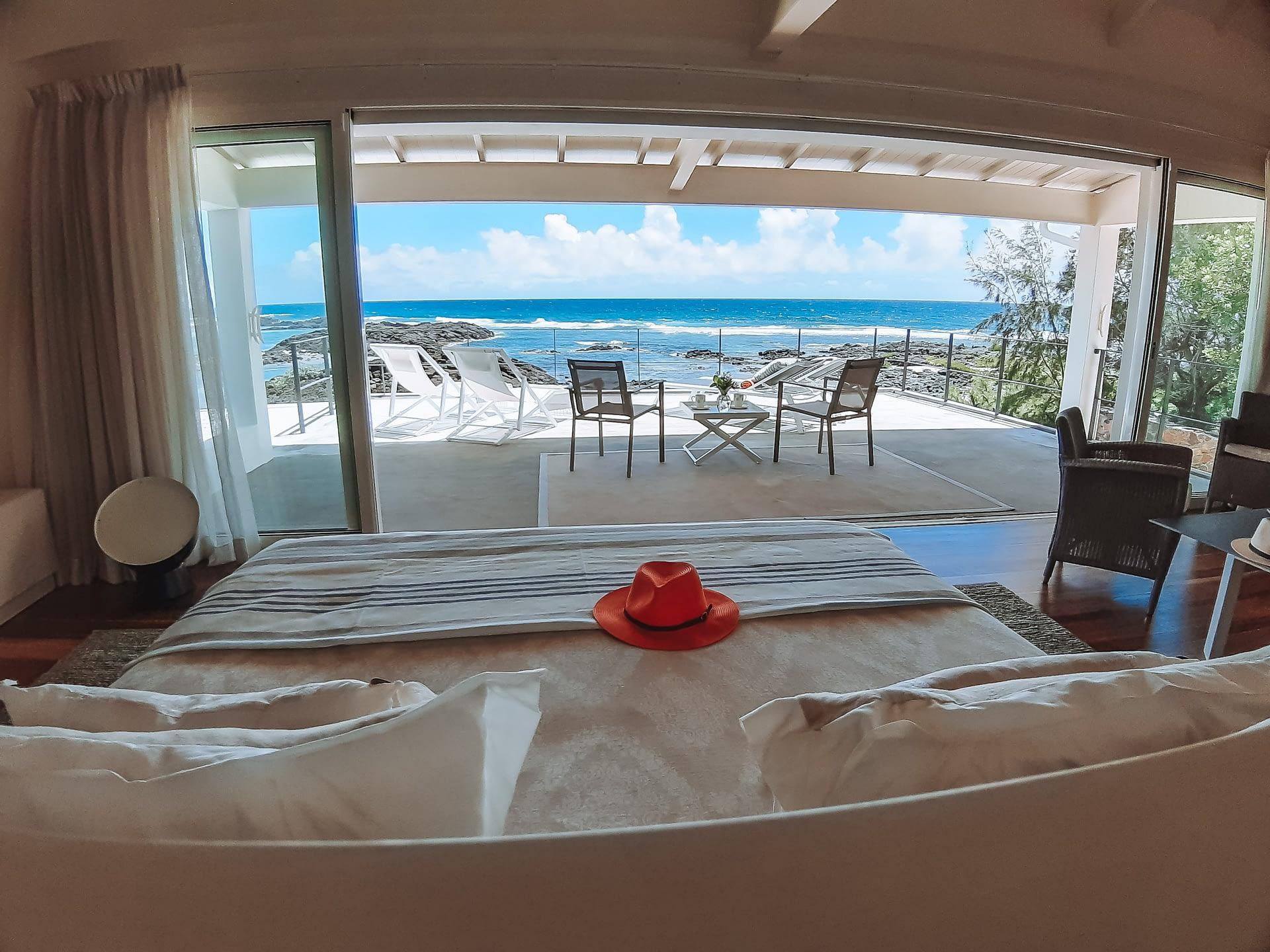 Villa Brisa bedroom sea view