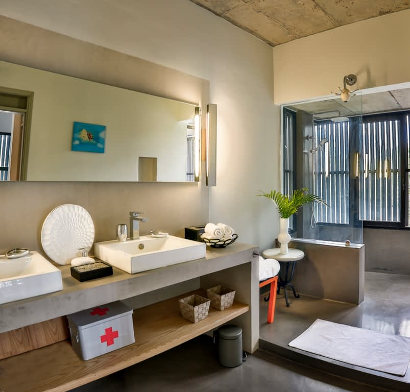 Villa CASITA bathroom first floor