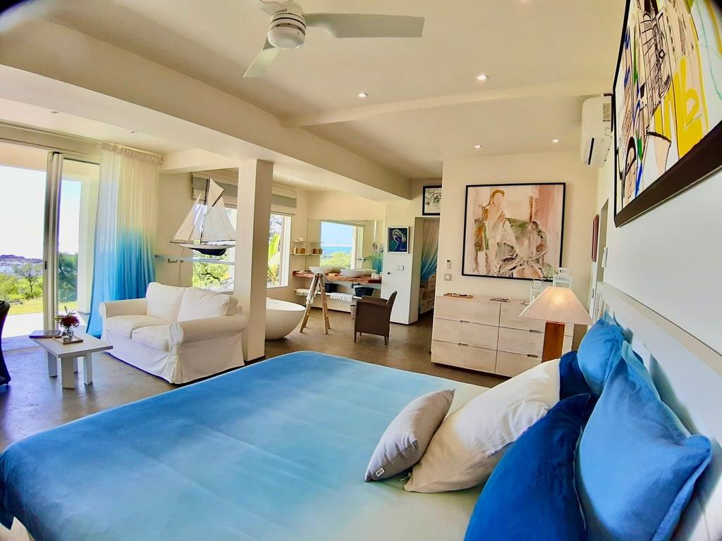 Villa Brisa bedroom groundfloor  sea view