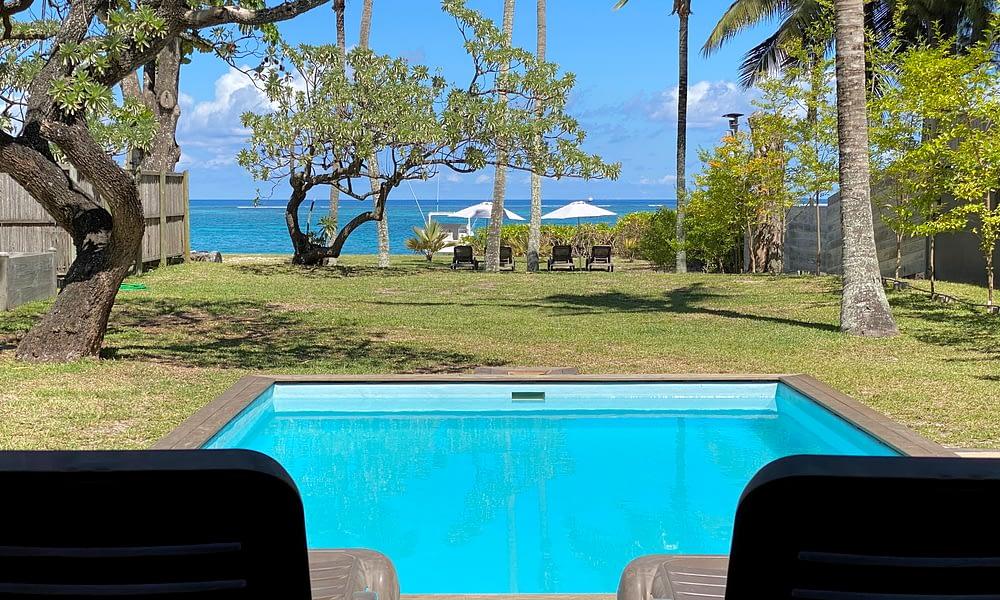 Villa Tropic 2 pool area tropical garden