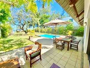 Villa Tropic 2 terrace and private swimming pool