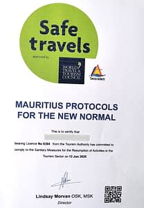 Safe travels Mauritius Guest Residence